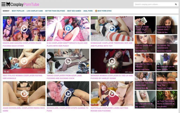 Cosplay Porn Tube